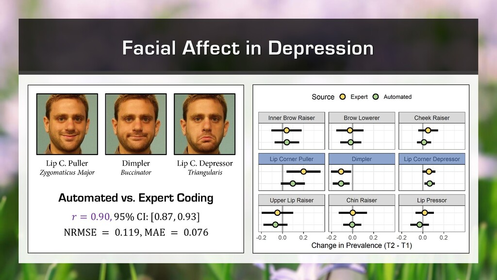 Facial Affect in Depression Automated vs. Exper...