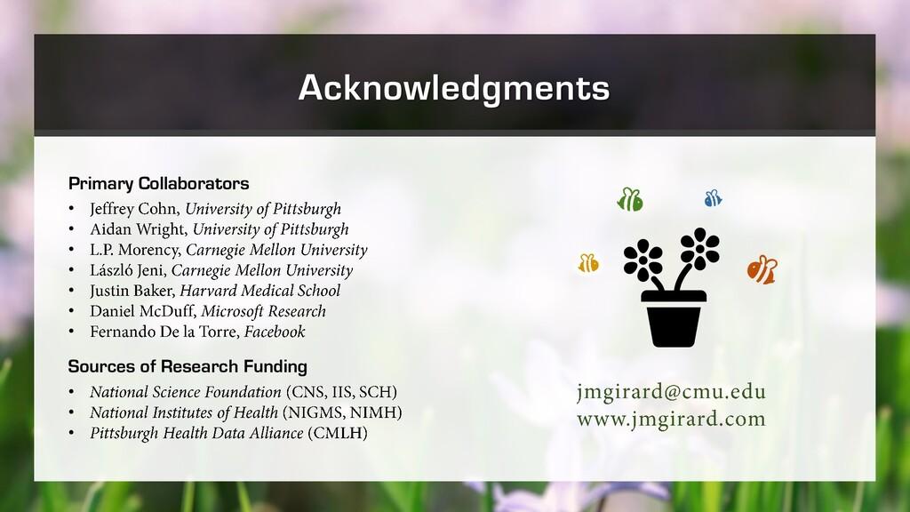 Primary Collaborators • • • • • • • Sources of ...