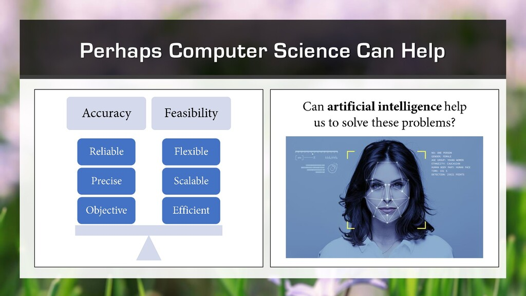 Perhaps Computer Science Can Help