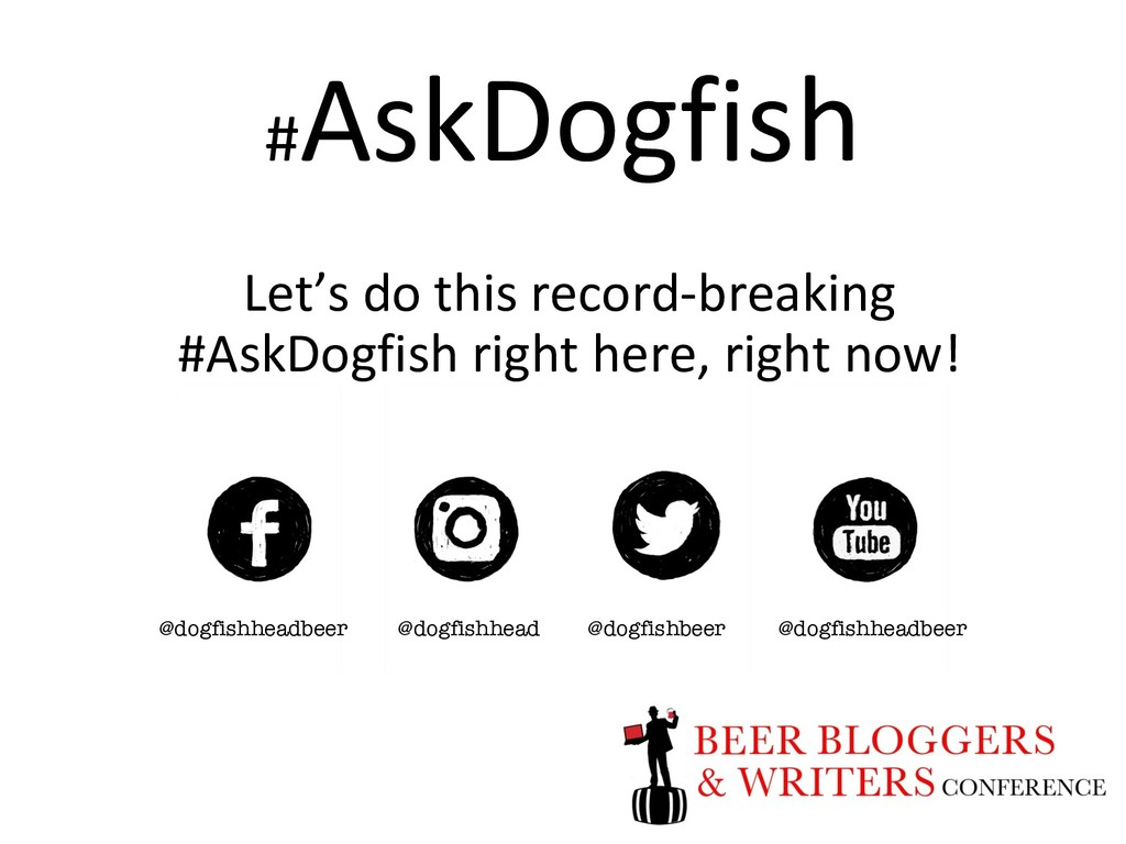 # AskDogfish Let's do this record-breaking #Ask...