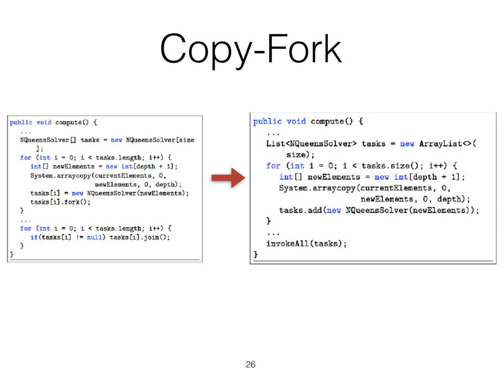 26 Copy-Fork