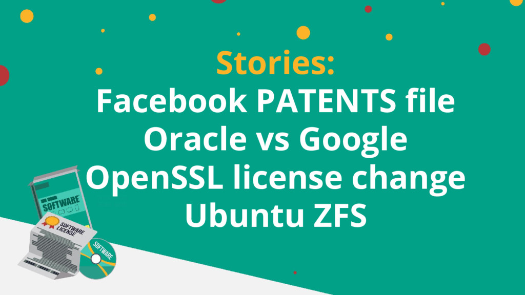 Stories: Facebook PATENTS file Oracle vs Google...