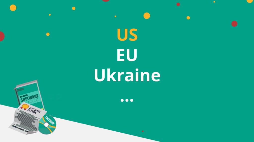 US EU Ukraine …