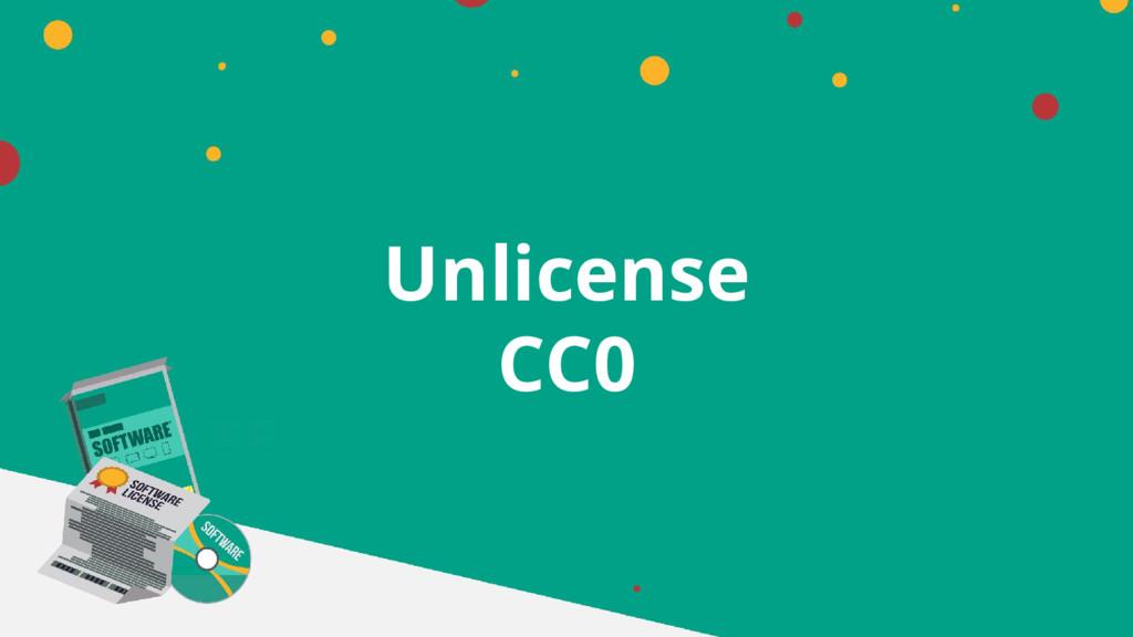 Unlicense CC0