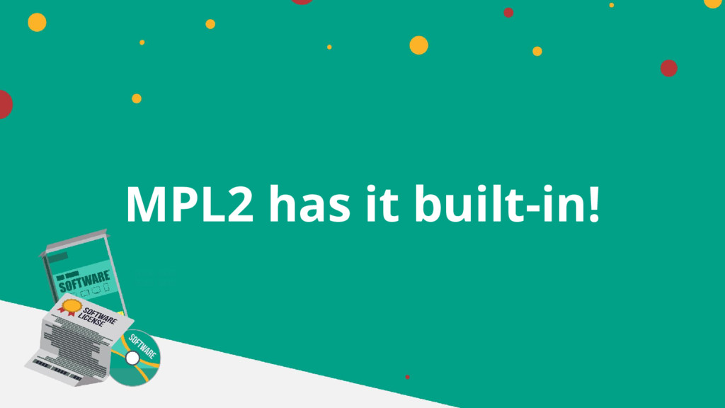MPL2 has it built-in!