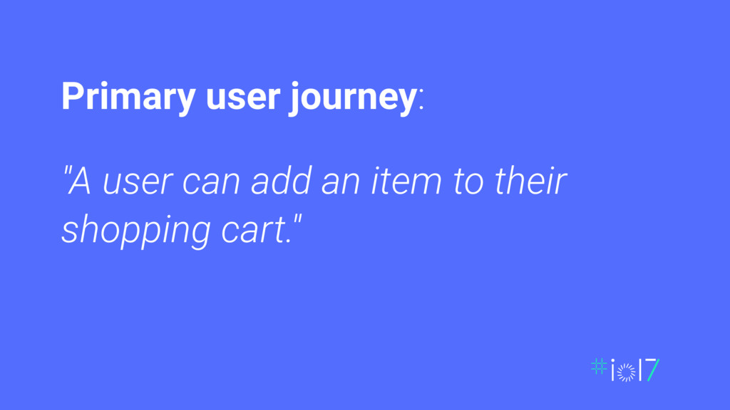 """A user can add an item to their shopping cart...."