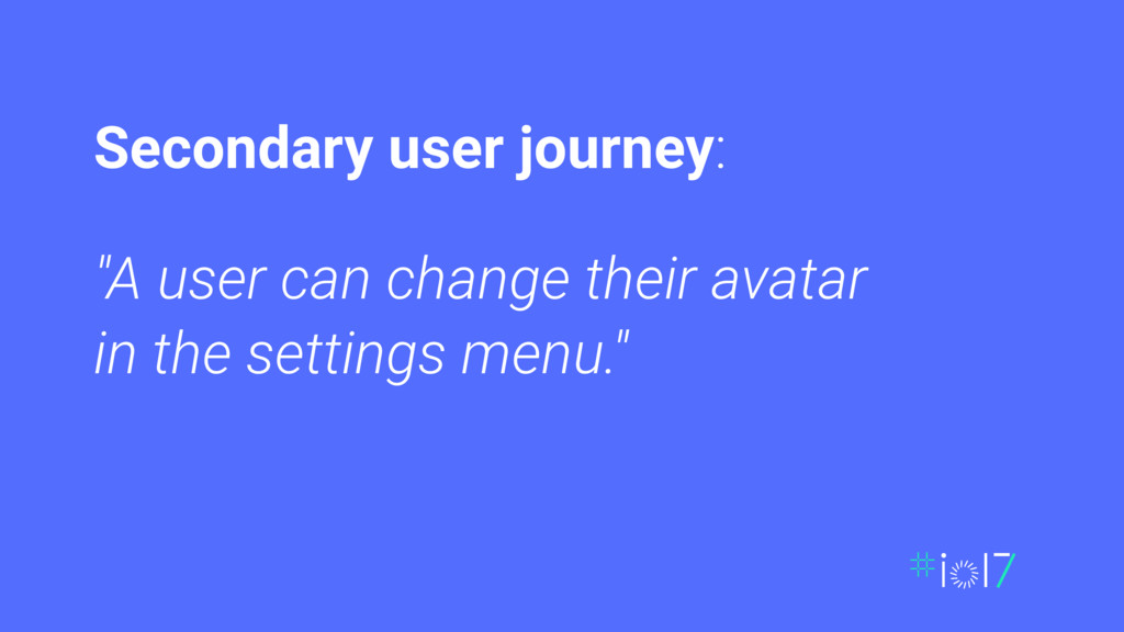 """A user can change their avatar in the settings..."