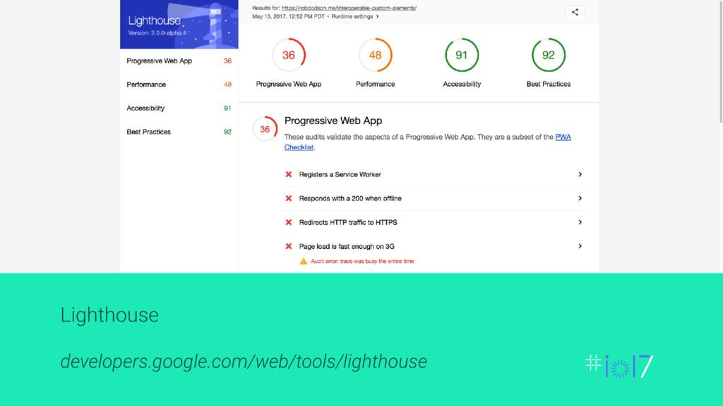 Lighthouse developers.google.com/web/tools/ligh...