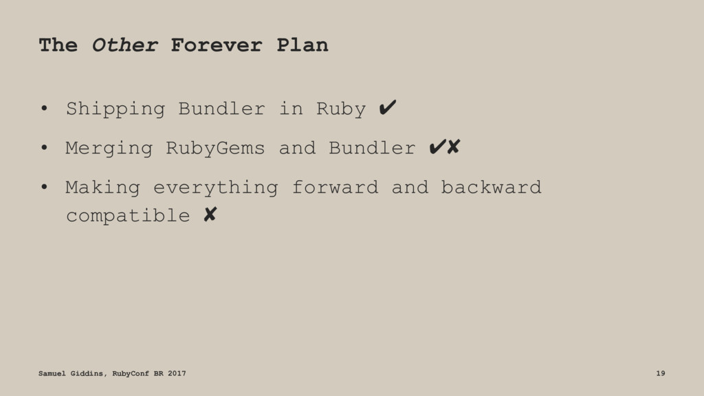 The Other Forever Plan • Shipping Bundler in Ru...
