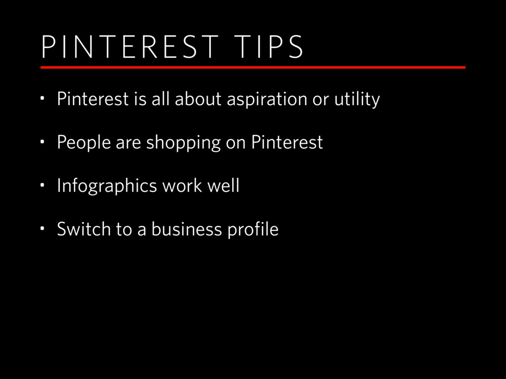PINTEREST TIPS • Pinterest is all about aspirat...