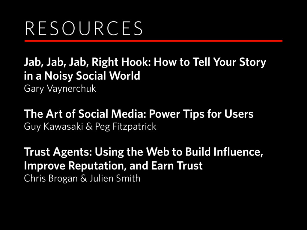 RESOURCES Jab, Jab, Jab, Right Hook: How to Tel...