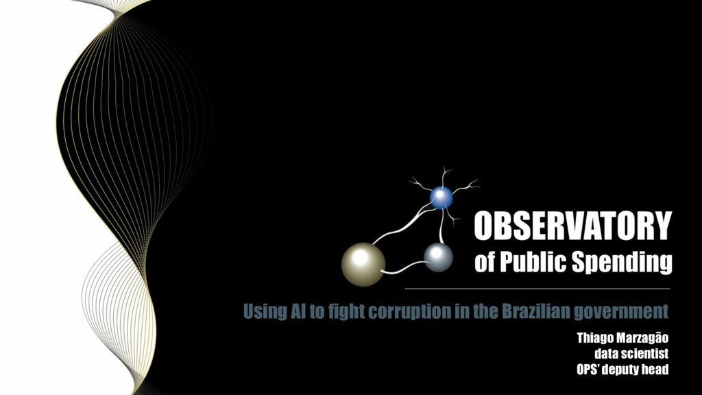 Using AI to fight corruption in the Brazilian g...