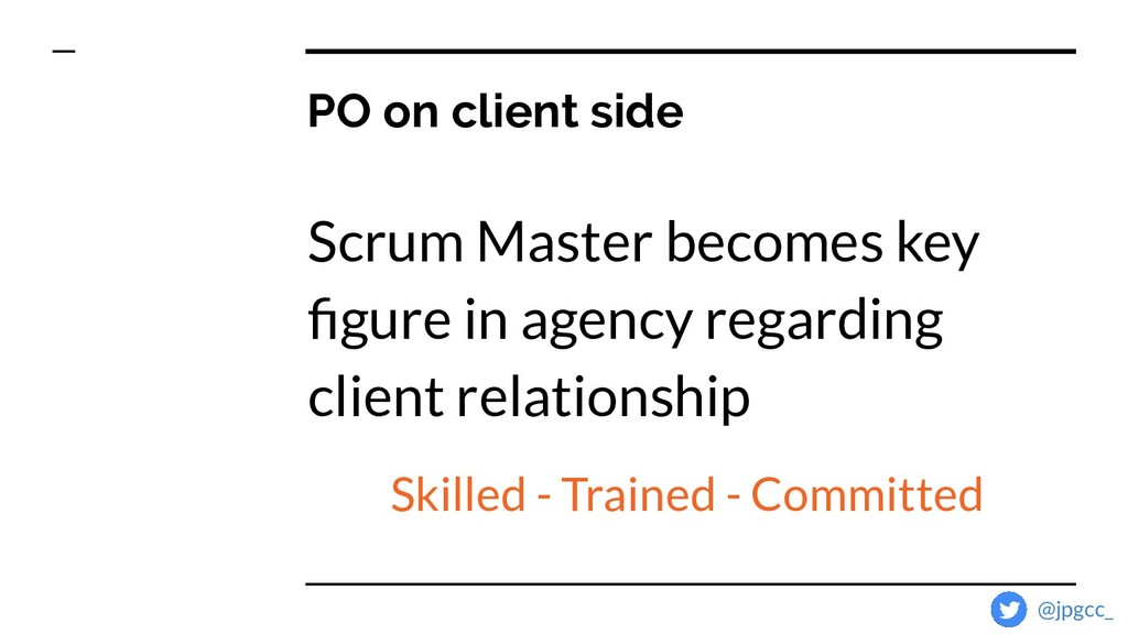 Scrum Master becomes key figure in agency regard...