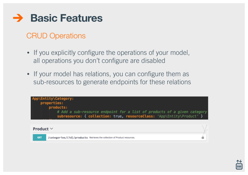 Basic Features • If you explicitly configure the...