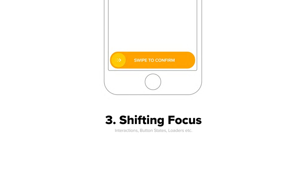 3. Shifting Focus Interactions, Button States,...