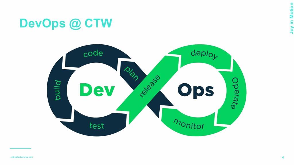 criticaltechworks.com Joy in Motion 4 DevOps @ ...