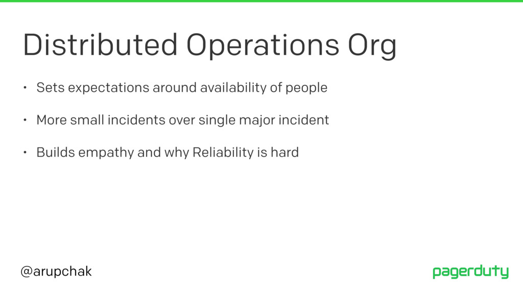 @arupchak Distributed Operations Org • Sets exp...