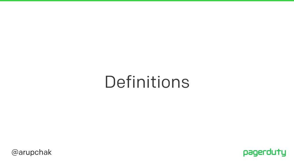 @arupchak Definitions