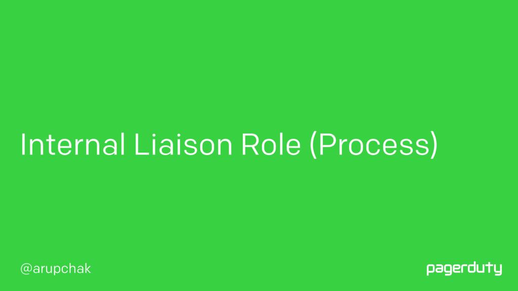 @arupchak Internal Liaison Role (Process)