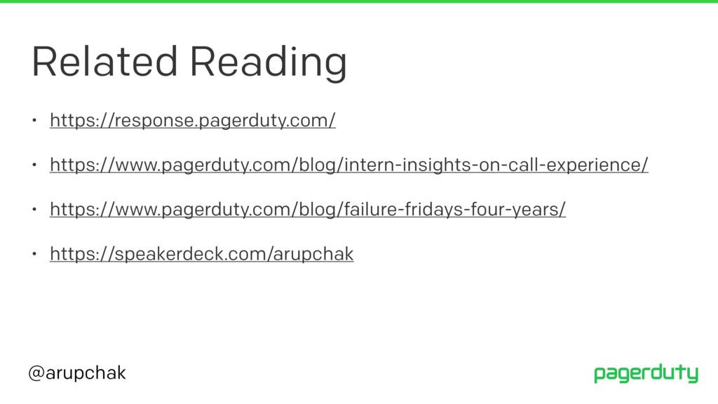 @arupchak Related Reading • https://response.pa...