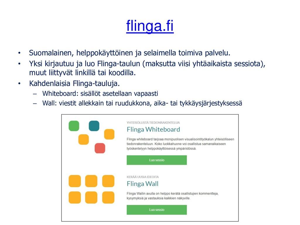 flinga.fi • Suomalainen, helppokäyttöinen ja se...