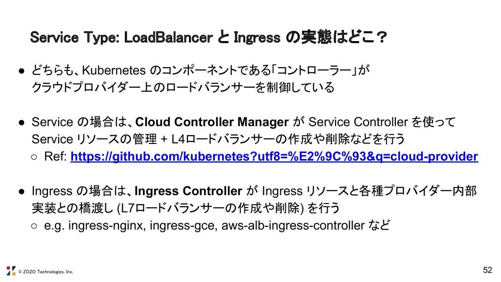 © ZOZO Technologies, Inc. 52 Service Type: Load...