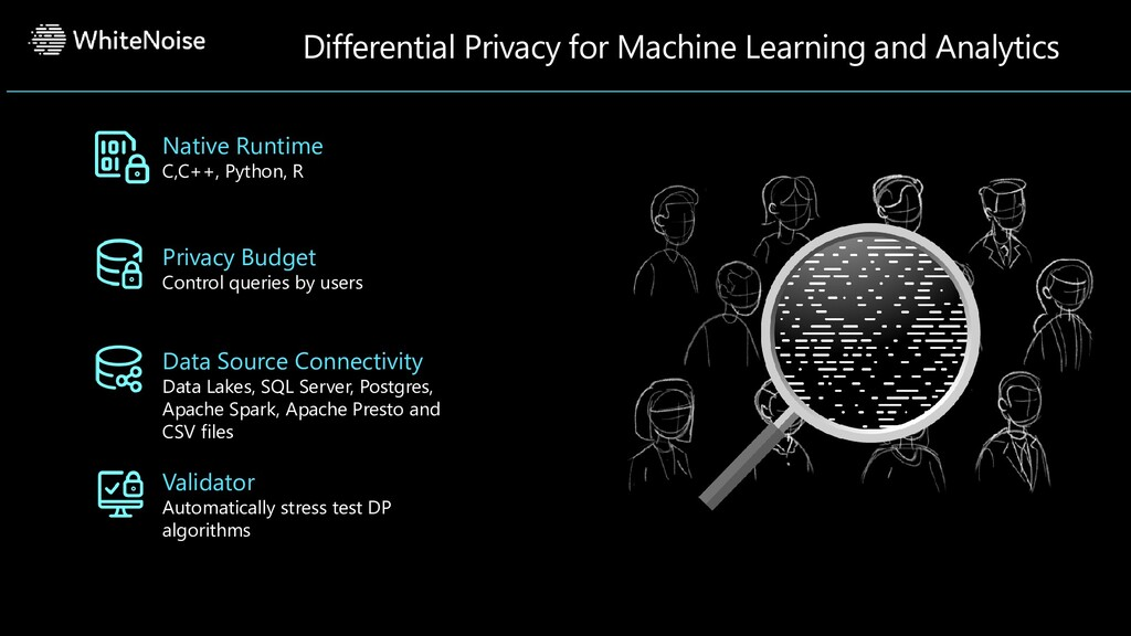 Differential Privacy for Machine Learning and A...