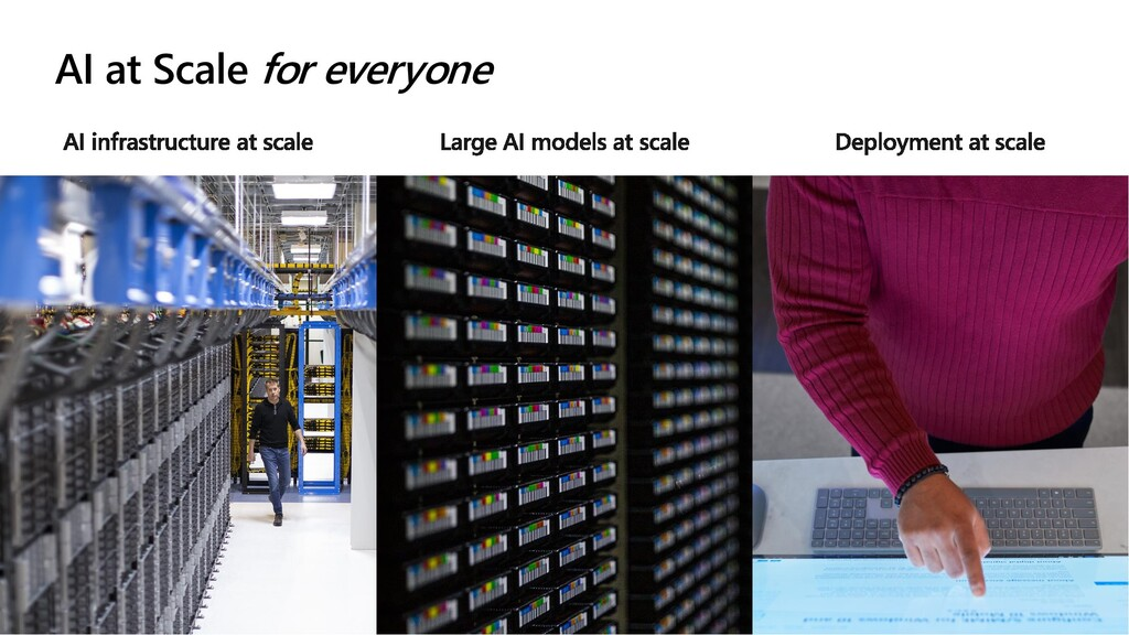 AI at Scale for everyone