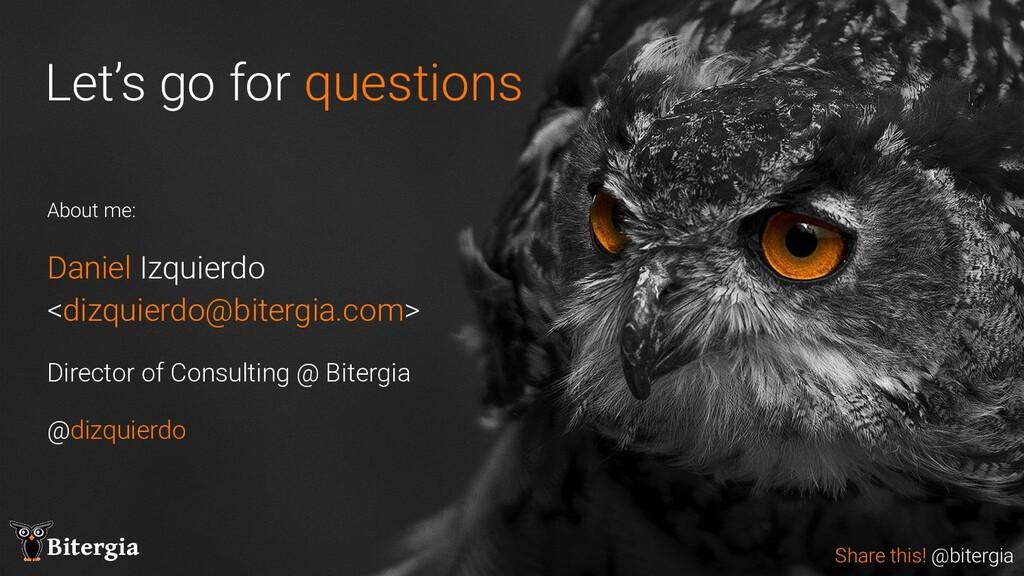 Share this! @Bitergia Bitergia Bitergia Share t...