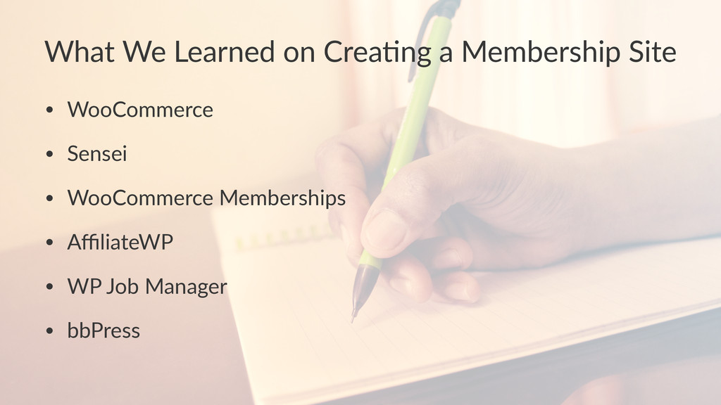 What%We%Learned%on%Crea-ng%a%Membership%Site • ...