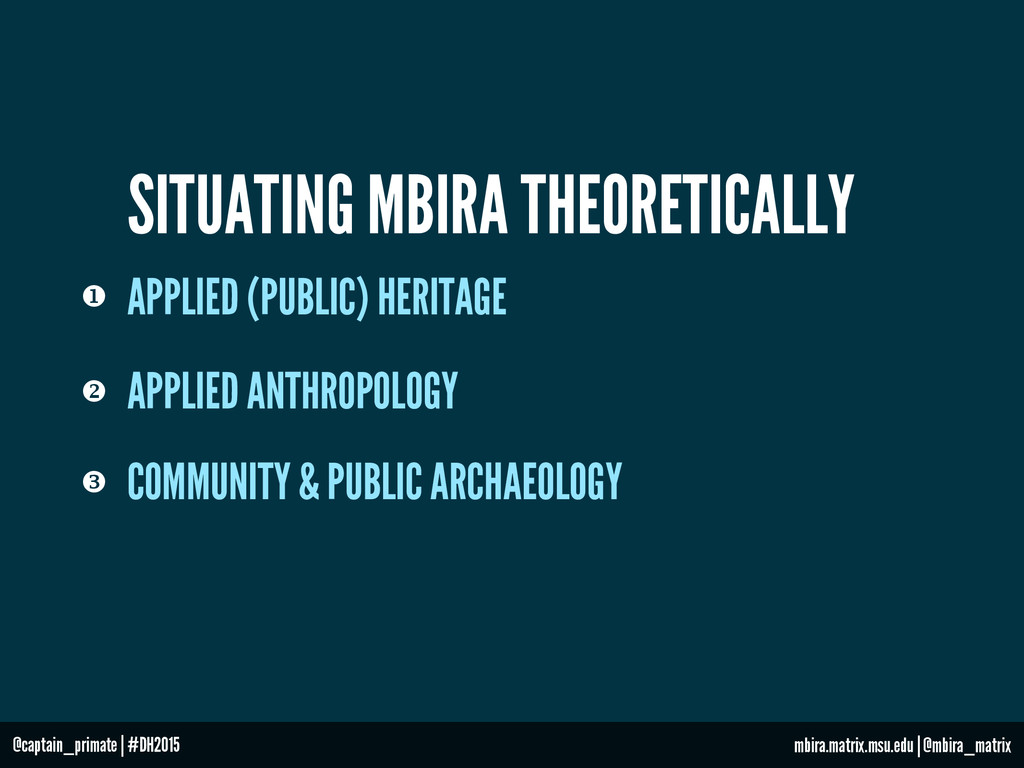 SITUATING MBIRA THEORETICALLY v APPLIED ANTHRO...