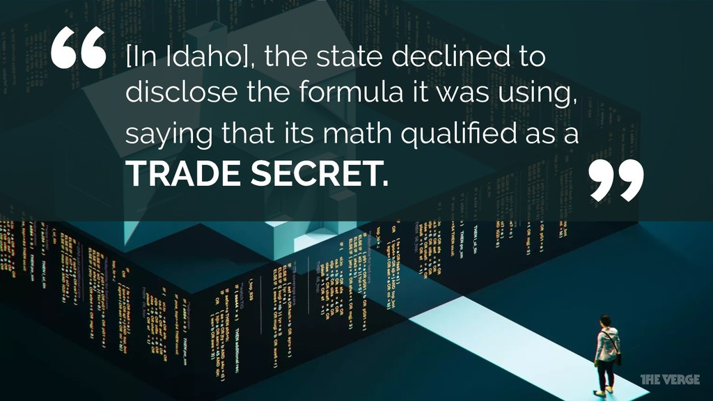 """ "" [In Idaho], the state declined to disclose ..."