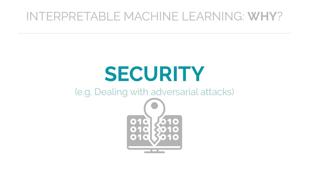 SECURITY (e.g. Dealing with adversarial attacks...