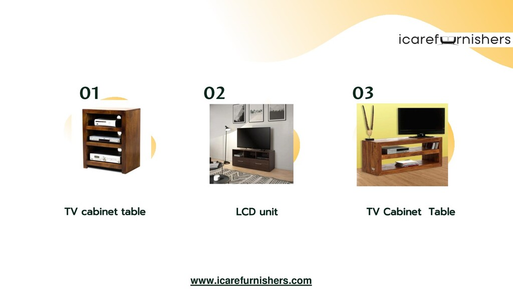 LCD unit TV Cabinet Table TV cabinet table 02 0...