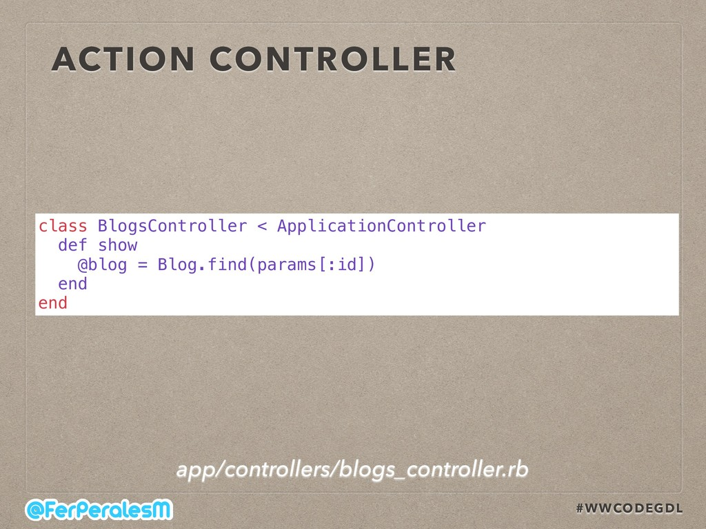 #WWCODEGDL ACTION CONTROLLER class BlogsControl...