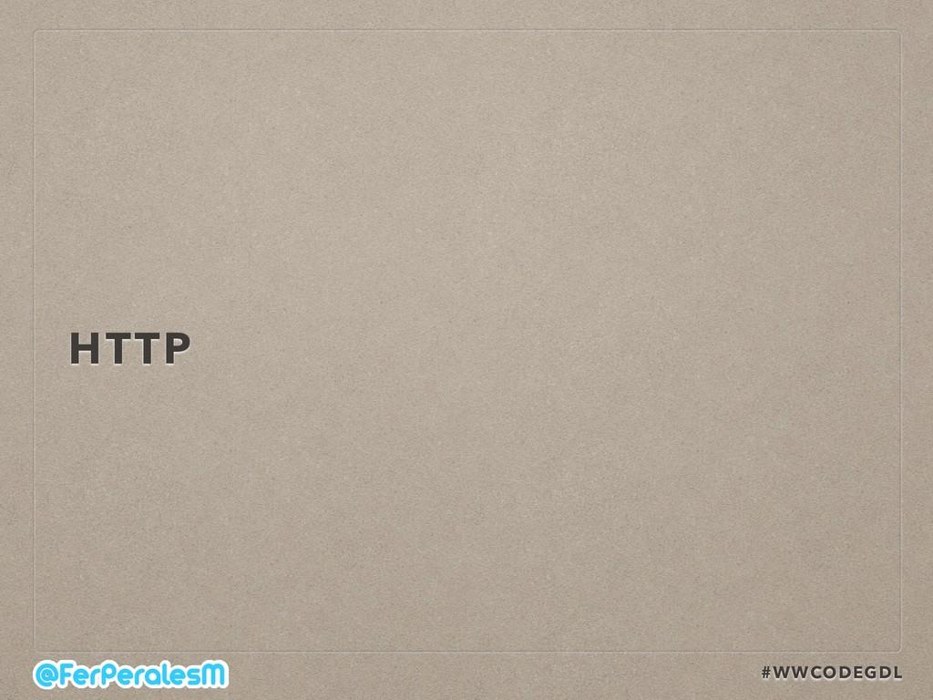 #WWCODEGDL HTTP