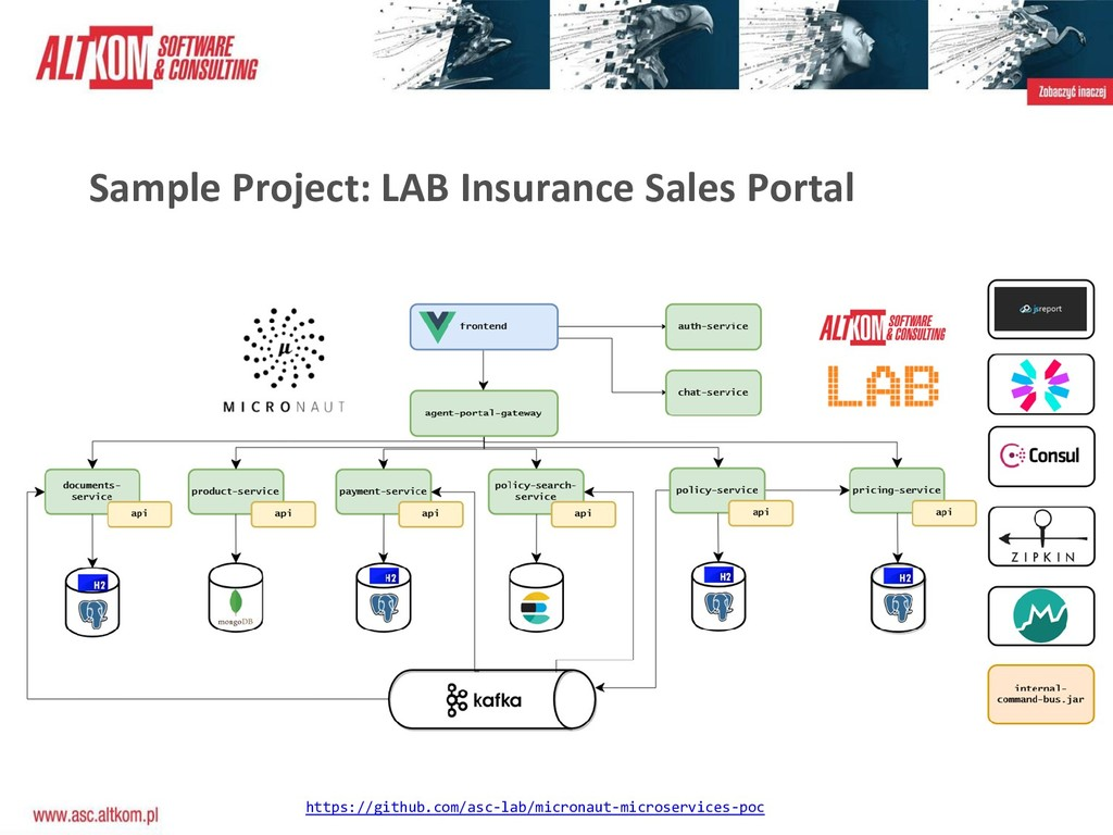 Sample Project: LAB Insurance Sales Portal http...