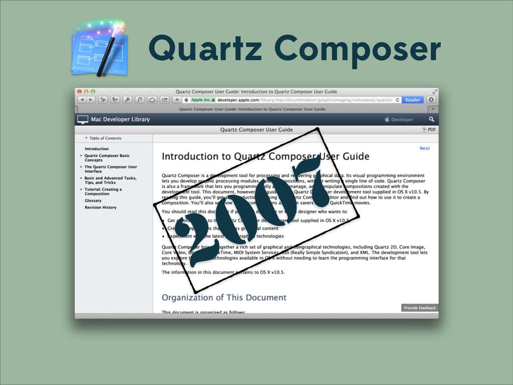 Quartz Composer 2007