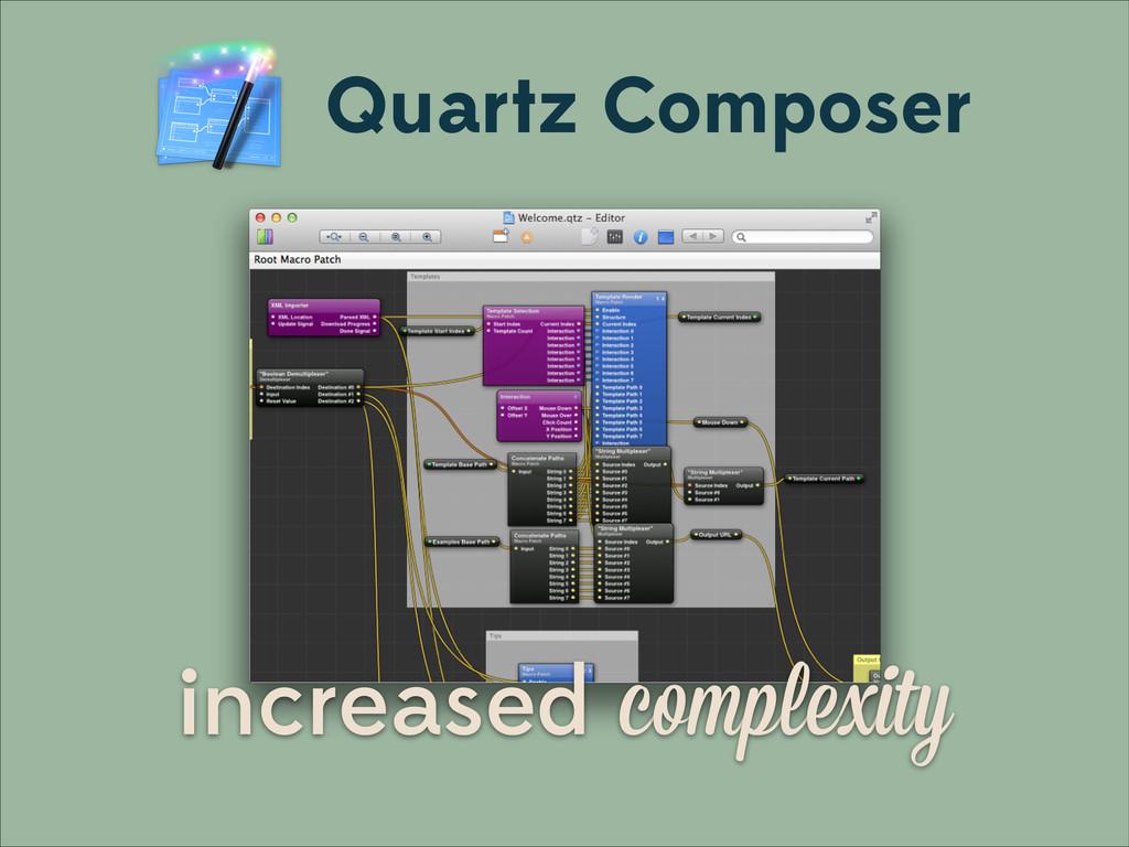 Quartz Composer increased complexity