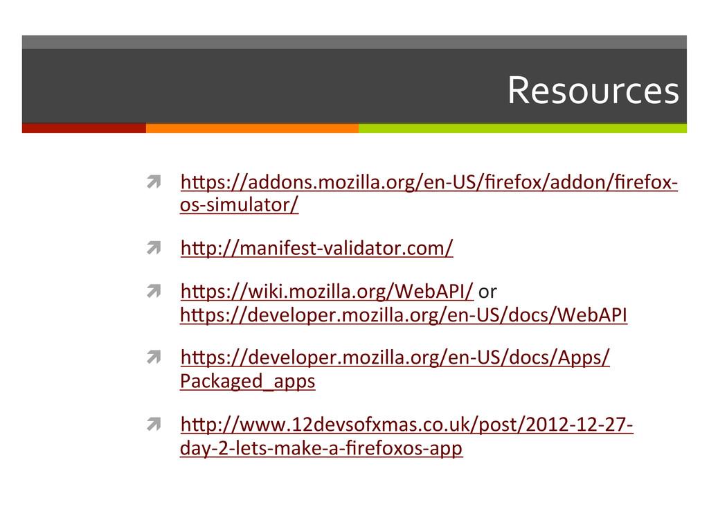 Resources  ì hKps://addons.mozilla.org/en-...