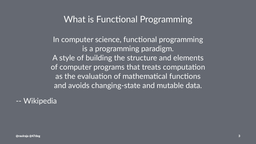 What is Func,onal Programming In computer scien...
