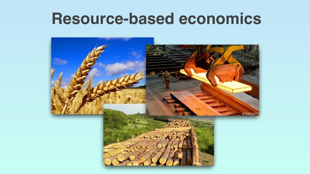 Resource-based economics