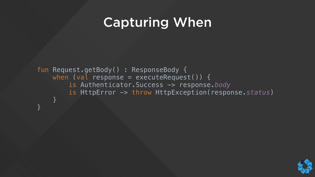 Capturing When fun Request.getBody() : Response...
