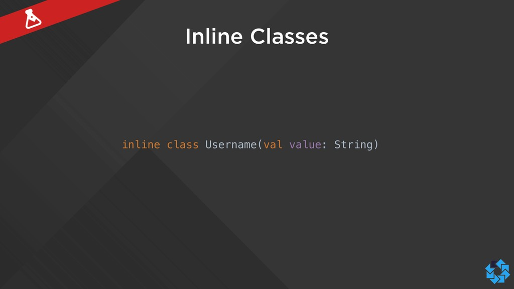 Inline Classes inline class Username(val value:...