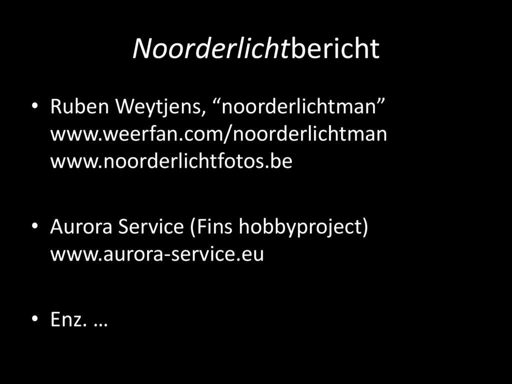 "Noorderlichtbericht • Ruben Weytjens, ""noorderl..."