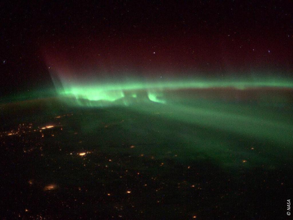 Eindigen met ISS foto © NASA
