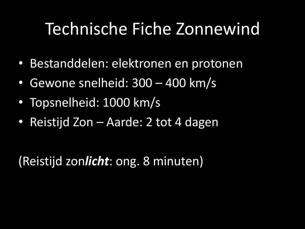 Technische Fiche Zonnewind • Bestanddelen: elek...