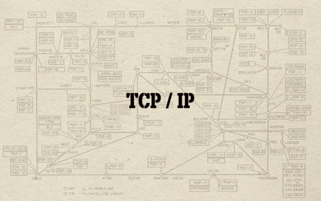 TCP / IP