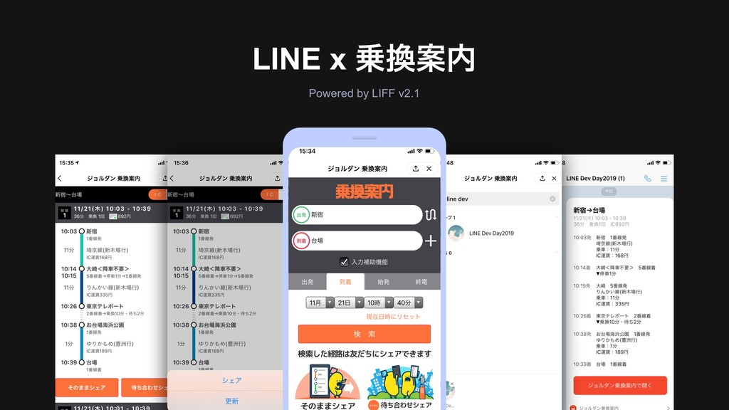 LINE x Ҋ Powered by LIFF v2.1