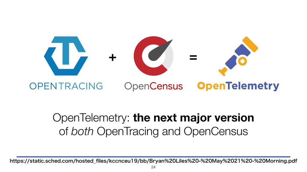 OpenCensus + = OpenTelemetry: the next major ve...